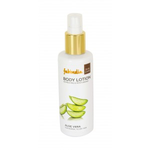 Buy Fabindia Aloe Vera Moisturising Lotion For Normal Skin - Nykaa