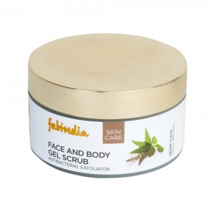 Buy Fabindia Neem Tulsi Gel Scrub Body And Face  - Nykaa