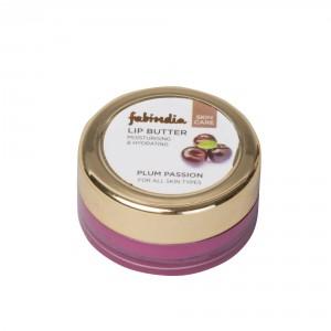 Buy Fabindia Face Plum Passion Lip Butter - Nykaa