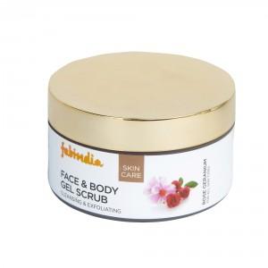 Buy Fabindia Rose Geranium Face and Body Gel Scrub - Nykaa