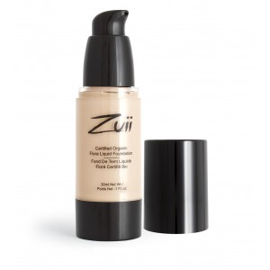 Buy Zuii Organic Flora Liquid Foundation - Olive Light - Nykaa