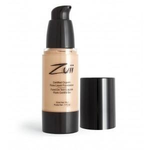 Buy Zuii Organic Flora Liquid Foundation - Natural Bisque - Nykaa