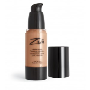 Buy Zuii Organic Flora Liquid Foundation - Warm Amber - Nykaa
