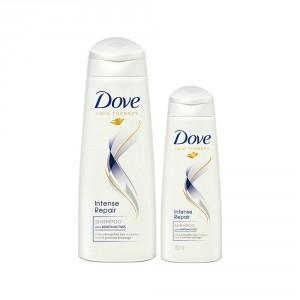 Buy Buy Dove Intense Repair Shampoo 340 ml & Get 80 ml Free - Nykaa