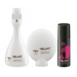 Buy BBLUNT Perfect Balance Shampoo + Conditioner + One Night Stand Temporary Hair Colour, Blush Pink - Nykaa