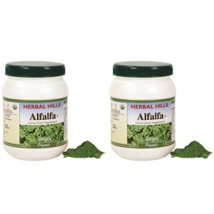 Buy Herbal Hills Alfalfa Health Supplement (Buy 1 Get 1) - Nykaa
