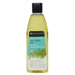 Buy Soulflower Tea Tree Oil Scalp and Anti Dandruff - Nykaa