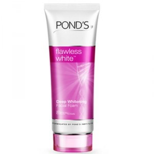 Buy Ponds Flawless White Deep Whitening Facial Foam - Nykaa
