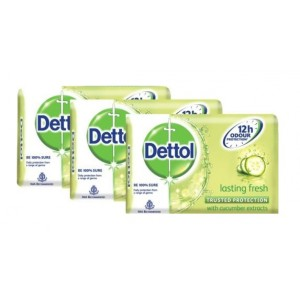 Buy Dettol Lasting Fresh Soap (Pack Of 3) (Rs. 9 off) - Nykaa
