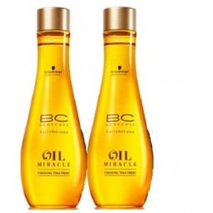 Buy Schwarzkopf Bonacure Oil Miracle Finishing Treatment (Pack of 2) - Nykaa
