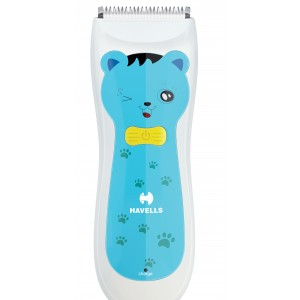 Buy Havells BC1001 Rechargeable Baby Hair Clipper - Blue - Nykaa
