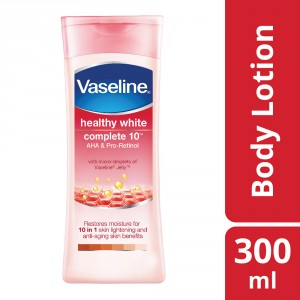 Buy Vaseline Healthy White Complete 10 AHA & Pro-Retinol Body Lotion - Nykaa