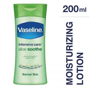 Buy Herbal Vaseline Intensive Care Aloe Soothe - Nykaa