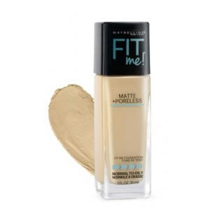 Buy Maybelline New York Fit Me Matte + Poreless Foundation # 128 Warm Nude - Nykaa