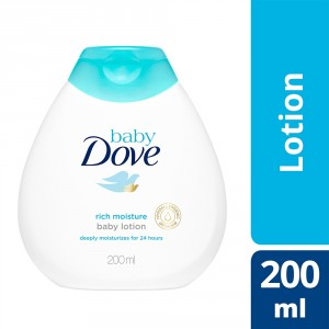 Buy Dove Baby Lotion Rich Moisture (200ml) - Nykaa