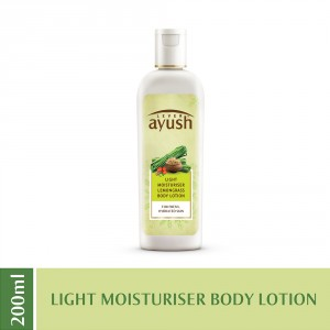 Buy Lever Ayush Light Moisturiser Lemon Grass Body Lotion - Nykaa