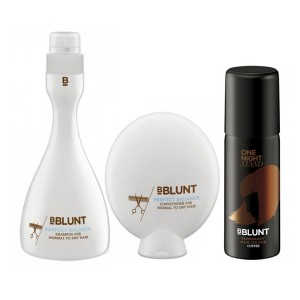 Buy BBLUNT Perfect Balance Shampoo + Conditioner + One Night Stand Temporary Hair Colour, Copper - Nykaa