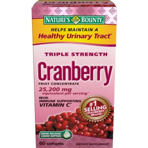 Buy Herbal Nature's Bounty Triple Strength Natural Cranberry with Vitamin C - Nykaa