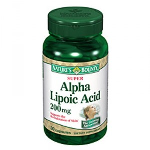 Buy Nature's Bounty Super Alpha Lipoic Acid 200 mg - Nykaa