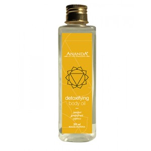 Buy Herbal Ananda Detoxifying Body Oil - Nykaa