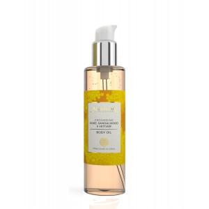 Buy Ananda Grounding Sandalwood,Rose & Vetiver Body Oil - Nykaa