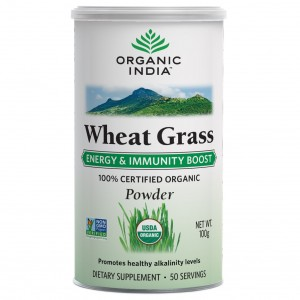 Buy Organic India Wheat Grass - Nykaa