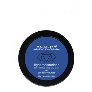 Buy Herbal Ananda Facial Moisturiser For Normal & Dry Skin - Nykaa
