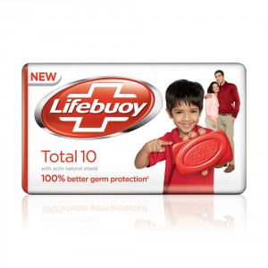 Buy Lifebuoy Total 10 Bar Soap - Nykaa