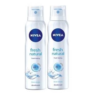 Buy Nivea Fresh Natural Ocean Extracts Deodorant - Buy 1 Get 1 Free  - Nykaa