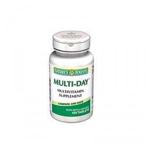 Buy Herbal Nature's Bounty Multi-Day Multivitamin Supplement - Nykaa