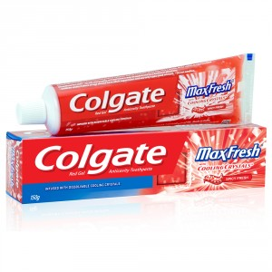 Buy Colgate Maxfresh Spicy Red Toothpaste (Gel) - Nykaa