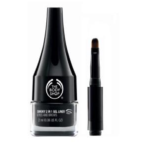 Buy The Body Shop Smoky 2 In 1 Gel Eye Liner - Nykaa