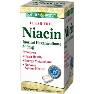 Buy Nature's Bounty Flush Free Niacin 500mg - Nykaa