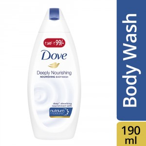 Buy Dove Deeply Nourishing Body Wash - Nykaa