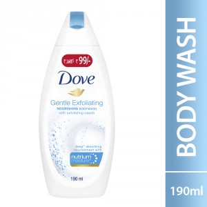 Buy Dove Gentle Exfoliating Body Wash (Rs. 61/- Off) - Nykaa