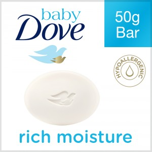Buy Herbal Dove Baby Bar Rich Moisture - Nykaa