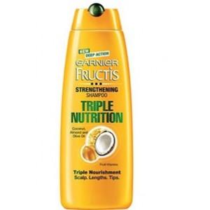 Buy Garnier Fructis Triple Nutrition Shampoo - Nykaa