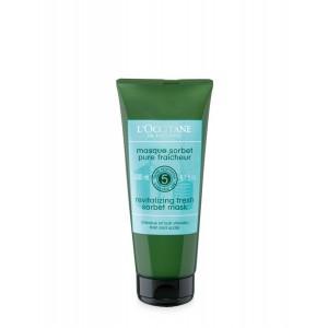 Buy Herbal L'Occitane Aromachologie Revitalizing Fresh Sorbet Mask - Nykaa
