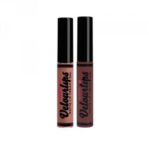Buy Australis Metallic Velourlips Matte Lip Cream Lipstick - So-Seoul + Velourlips Matte Lip Cream - Mo-Zam-Chic - Nykaa