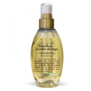 Buy Organix Brazilian Keratin Therapy Shimmering Keratin Oil - Nykaa