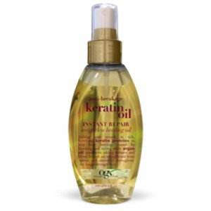 Buy Organix Anti- Breakage Keratin Oil Instant Repair Weightless Healing Oil - Nykaa