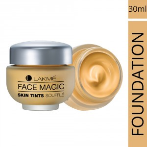 Buy Lakme Face Magic Skin Tints Souffle - Marble - Nykaa