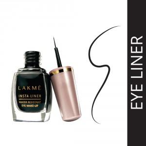 Buy Lakme Insta Liner Eye Liner, Black, 9 ml - Nykaa