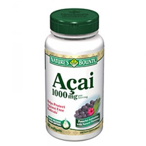 Buy Nature's Bounty Acai 1000mg - Nykaa