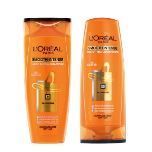 Buy L'Oreal Paris Smooth Intense Shampoo + L'Oreal Paris Smooth Intense Conditioner - Nykaa