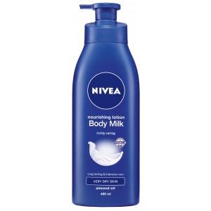 Buy Nivea Nourishing Body Milk  - Nykaa