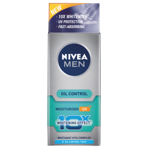 Buy Nivea For Men Advanced Whitening Oil Control Moisturisier  - Nykaa