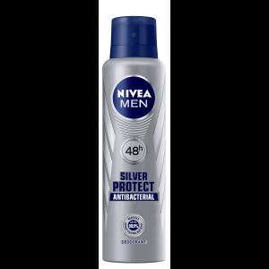 Buy NiveaSilver Protect Antibacterial Deodorant - Nykaa