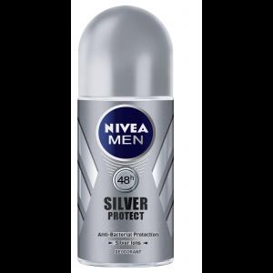 Buy Nivea Men Silver Protect Roll On - Nykaa