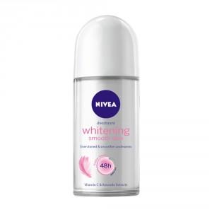 Buy Nivea Whitening Smooth Skin Deodorant Roll On - Nykaa